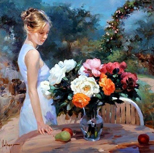 Vladimir Volegov - Fructe si trandafiri