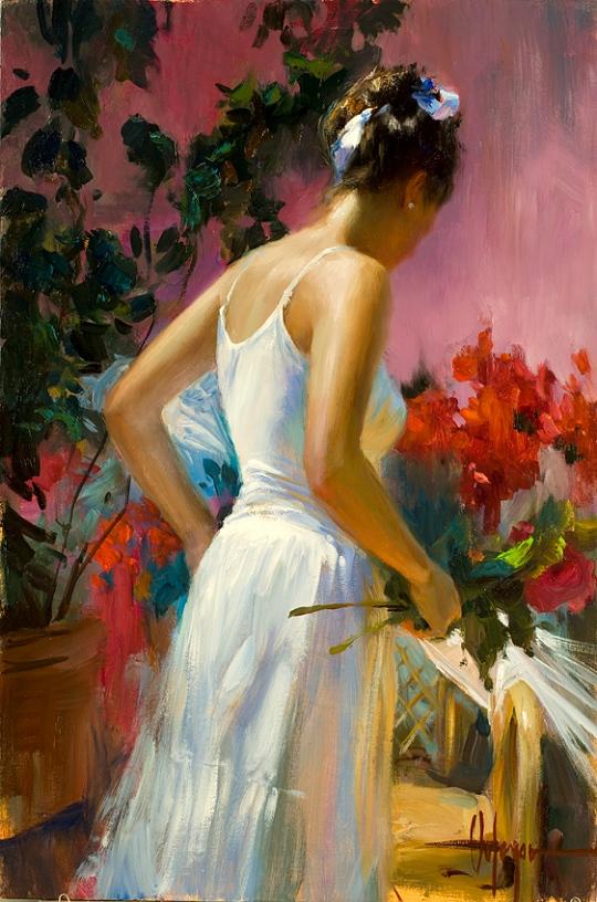 Vladimir Volegov - GATHERING FLOWERS
