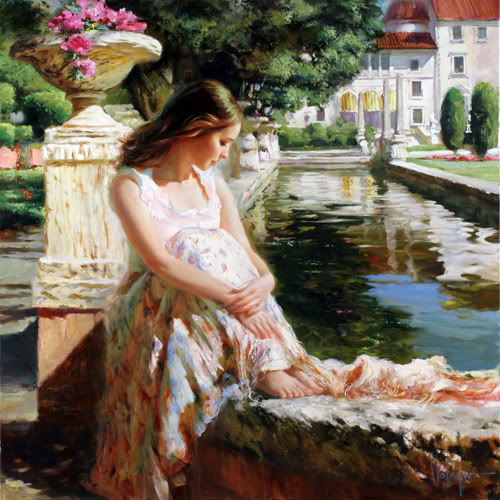Vladimir Volegov - On the edge of lake