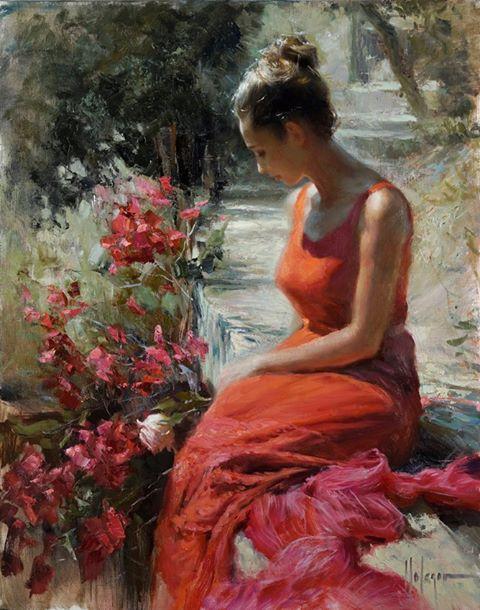 Vladimir Volegov - Printre trandafiri
