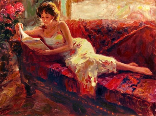 Vladimir Volegov - The Red Couch