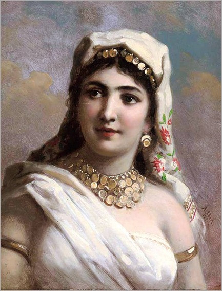 anton-ebert_oriental lady
