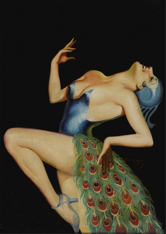 EARLE KULP BERGEY (American 1901-1952)