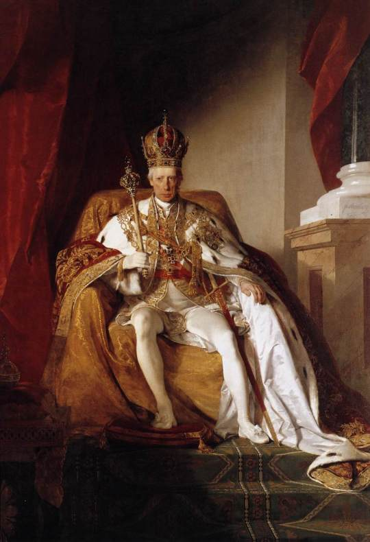 Emperor Franz I of Austria in his Coronation Robes