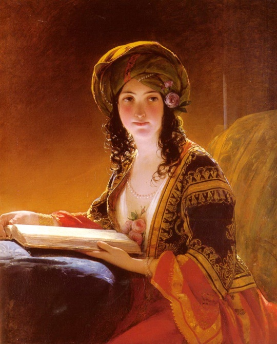 Friedrich von Amerling - The Oriental Woman