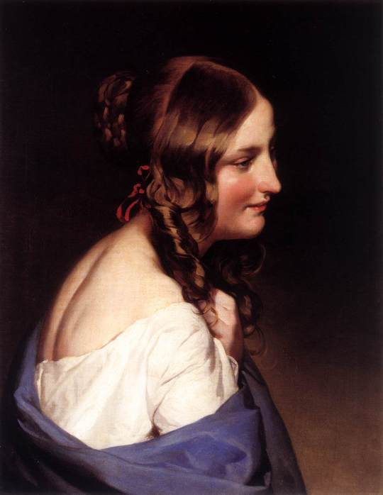 Friedrich_von_Amerling_-_Likeness_of_a_Girl_-_WGA00264