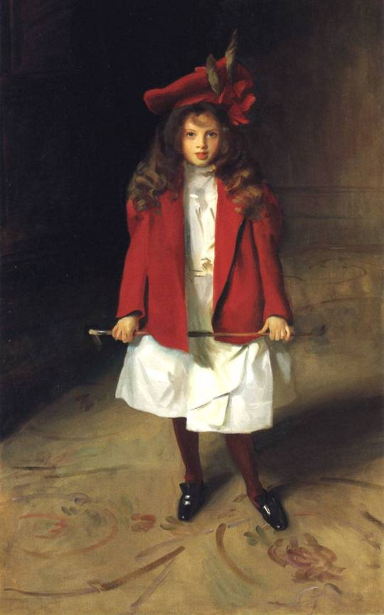 John Singer Sargent (American Painter, 1856-1925) - The Honourable Victoria Stanley