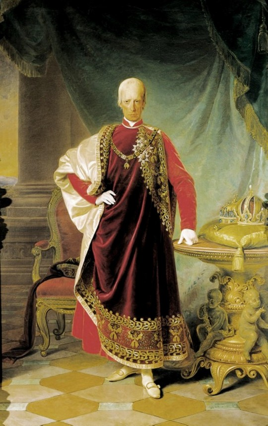 Portrait of Franz I, emperor of Austria