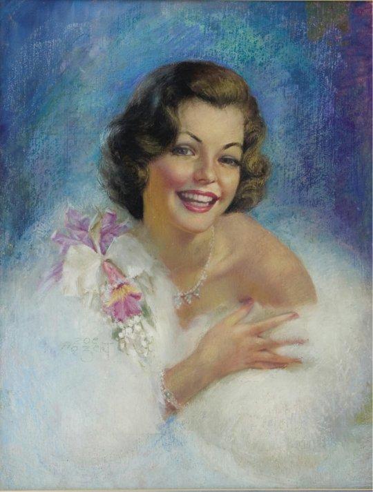 ZOE MOZERT (American 1904 - 1993)
