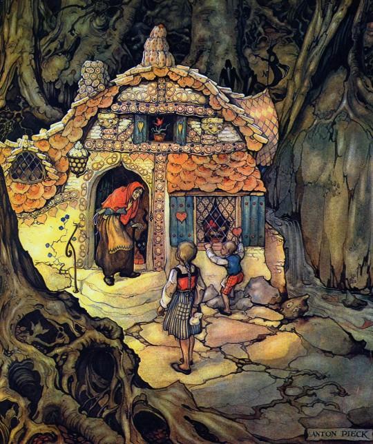 Anton Pieck - Henzel & Gretel