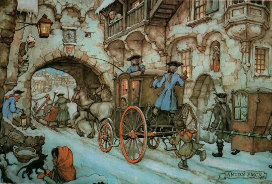 anton_pieck_1899 dracula