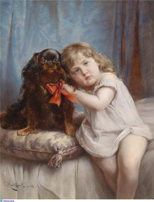 Carl Reichert (1836-1918) The Best Friend