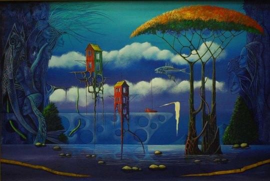 David Sosa - Stilt-Houses
