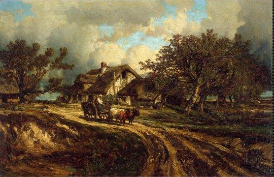 Dupre_Jules-ZZZ-Village_Landscape