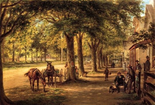 Edward Lamson Henry - The Village Street