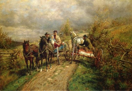 Edward-Lamson-Henry-xx-The-Latest-Village-Scandal