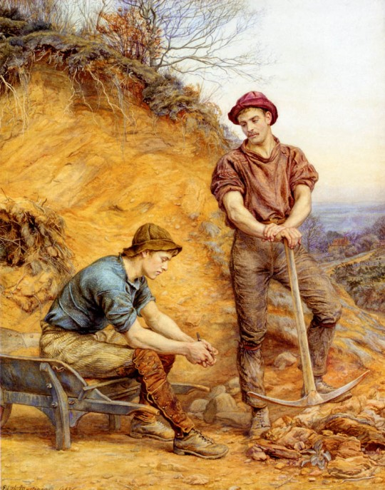 George Faulkner Wetherbee - The-Quarry-Workers