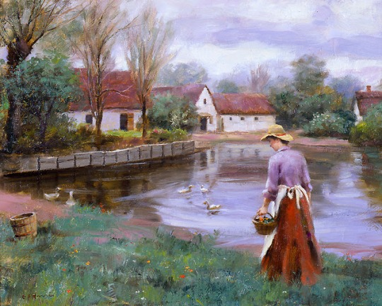 gregory_frank_harris_gh1206_the_village_pond