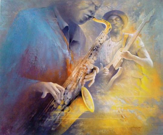 Jean Pierre Monange - Feel Blues