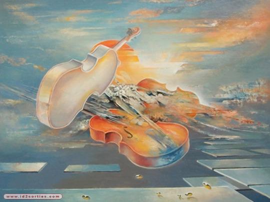 jean-pierre-monange - le violin