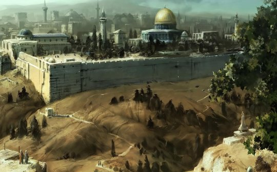 jerusalem_oil_painting_wallpaper-wide