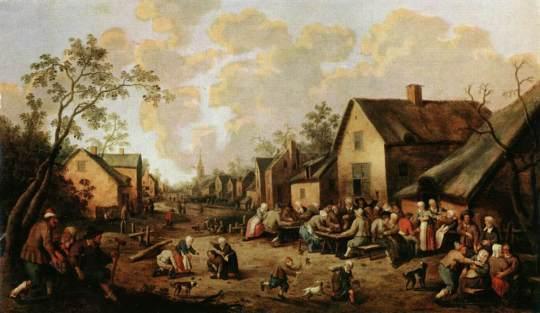 Joost_Cornelisz._Droochsloot_-_Village_Street