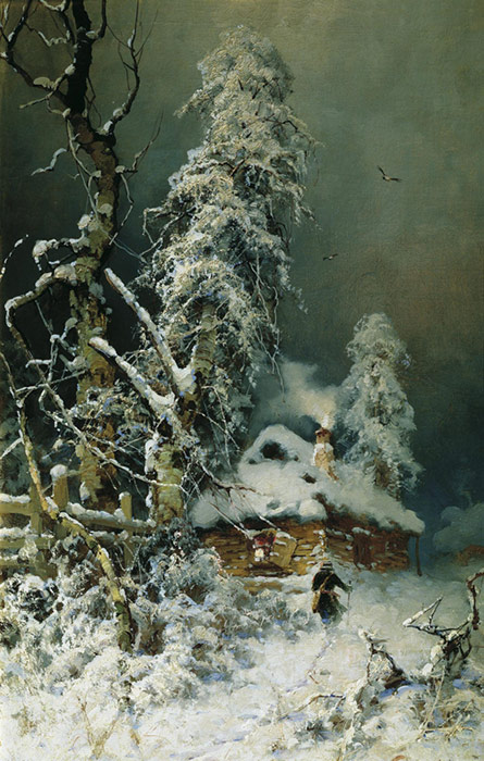 Oil_Painting_Reproduction_of_Klever_Winter_Landscape