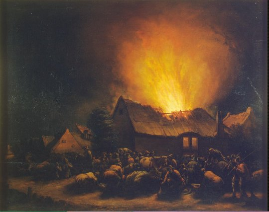 Poel_Egbert_Lievensz_van_der-ZZZ-Fire_in_a_Village