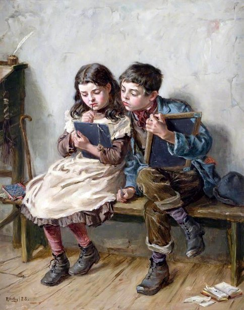 Ralph Hedley - In-school