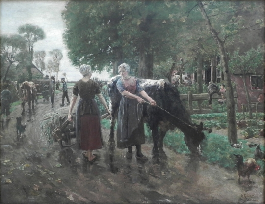 road-in-dutch-village-1885