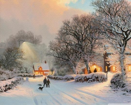 village_in_winter