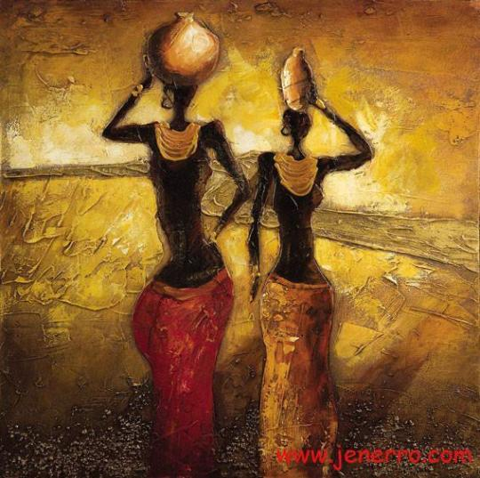 africa_woman_oil_paintings_on_canvas