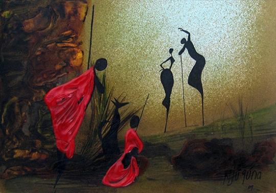 African-art-paintings-by-Bernard-Ndichu-Njuguna1