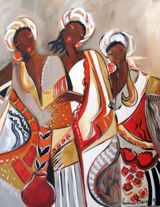 African maidens