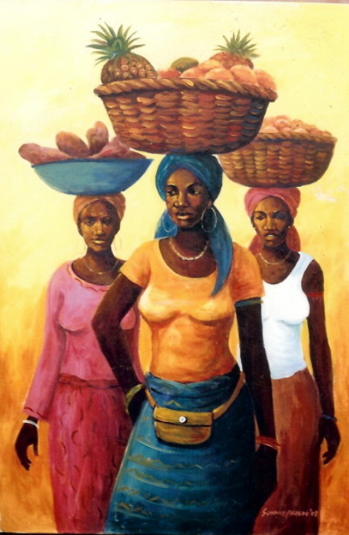 african-paintings-and-craft-