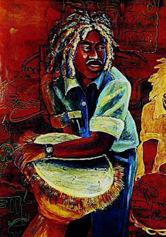 African_Art_Calypso_Manand_craft_paintings_drawings