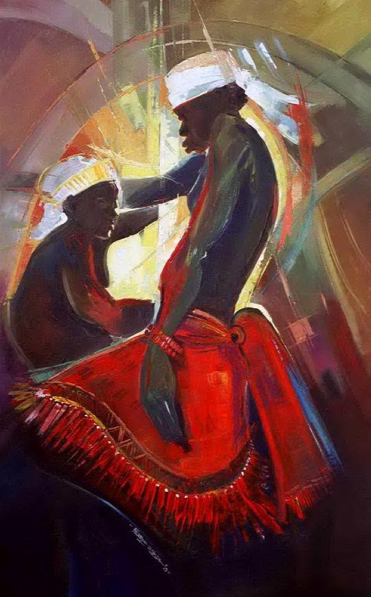 Agbor Dancers 1999 145x85