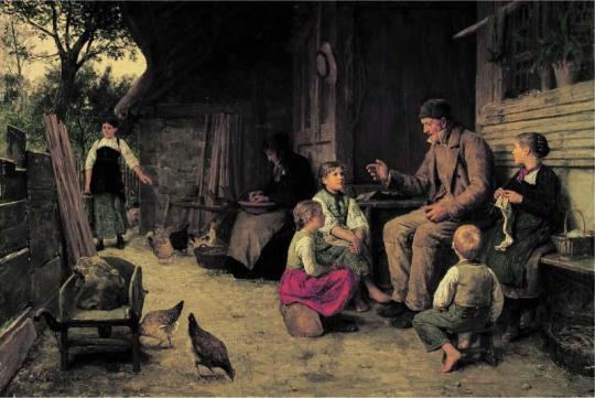 Albert Anker- der Grossvater