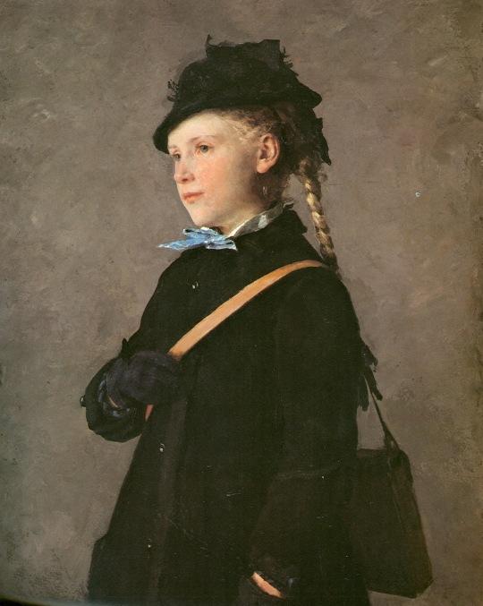 Albert Anker portret