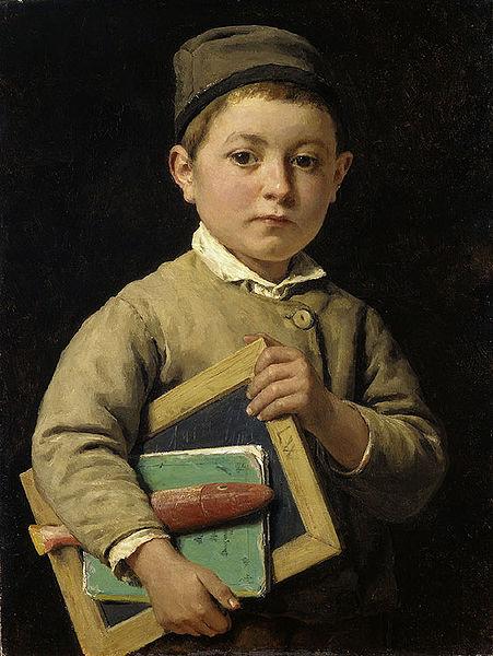 Albert Anker student