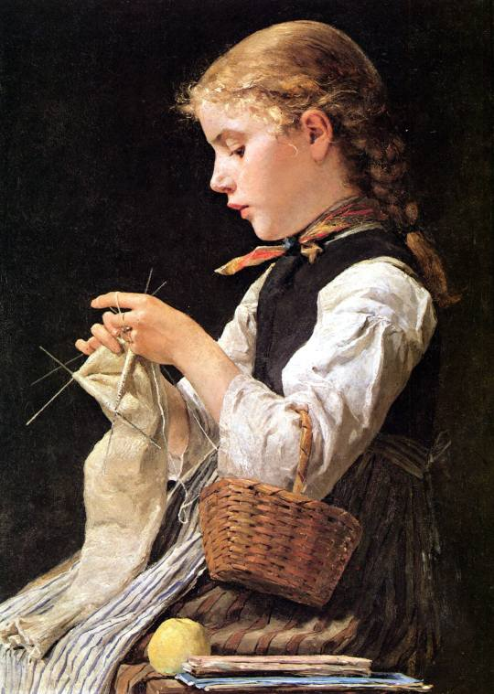 albert-samuel-anker-knitting-girl