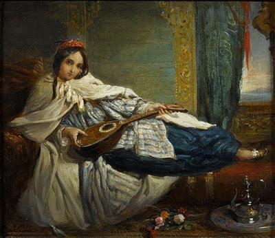 Alexandre-Marie Colin 1798-1875 Odalisque