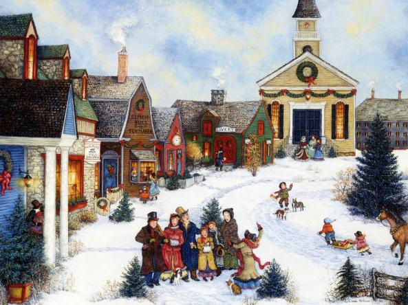 americana-art-painting-caroling-in-the-village_1600x1200