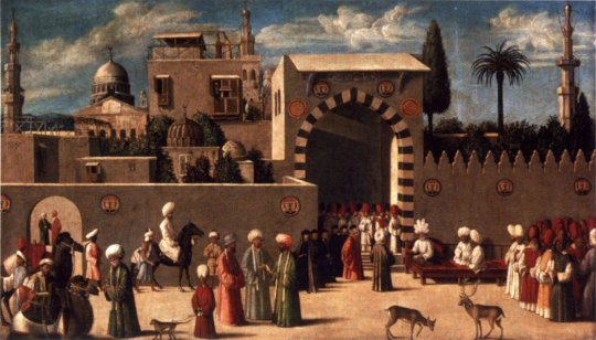 Anonymous_Venetian_orientalist_painting,_The_Reception_of_the_Ambassadors_in_Damascus',_1511,_the_Louvre
