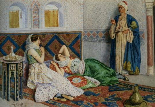 antonio-gargiullo-italian-19-th-century-in-the-harem