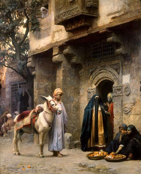 Arabian street scene
