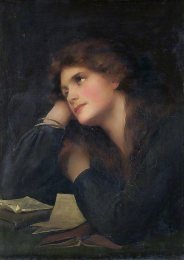 Beatrice Offor - Contemplative woman
