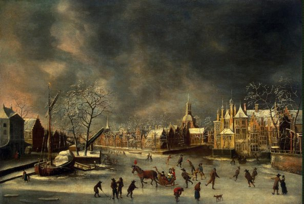 Beerstraten_Abraham-ZZZ-Winter_View_of_Leyden