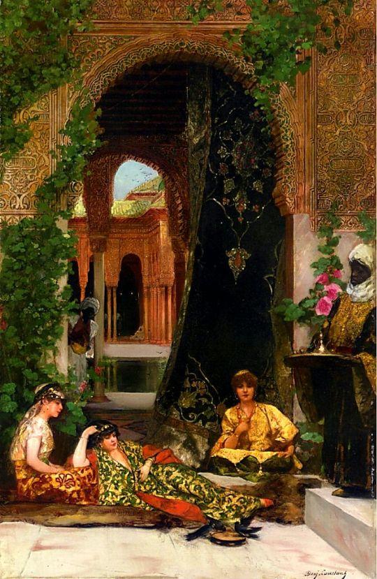 Benjamin Jean Joseph Constant Harem Woman