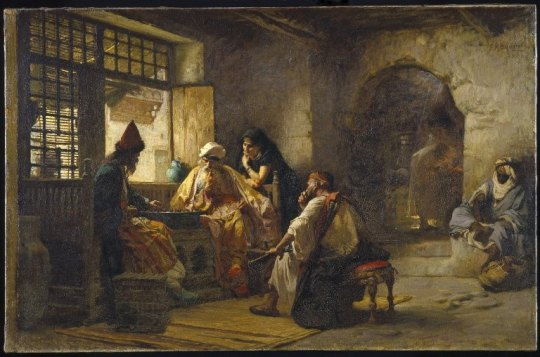Brooklyn_Museum_-_An_Interesting_Game_-_Frederick_Arthur_Bridgman_-_overall